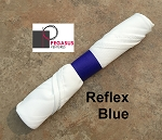 Reflex Blue restaurant napkin bands to wrap with linen napkins- 20,000 1.5