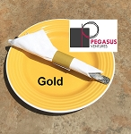 Gold restaurant napkin bands to wrap with paper napkins- 20,000  1.5