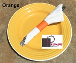 Orange restaurant napkin bands to wrap with paper napkins- 20,000 1.5