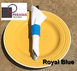 Royal Blue restaurant napkin bands to wrap with paper napkins- 20,000 1.5