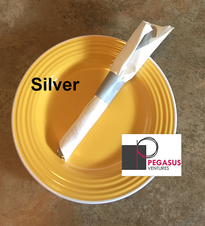 Silver restaurant napkin bands to wrap with paper napkins- 20,000 1.5