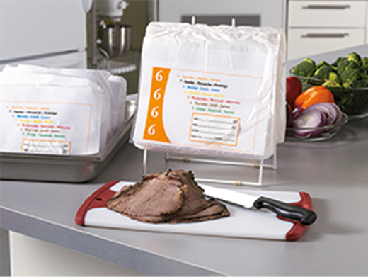 Restaurant Portion Control Bags