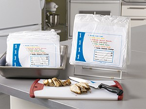 "PB81001 10"" x 8.5"" Portion Bags - Monday DateIt™ brand portion bags"