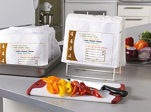 "PB81004 10"" x 8.5"" Portion Bags - Thursday DateIt™ brand portion bags"